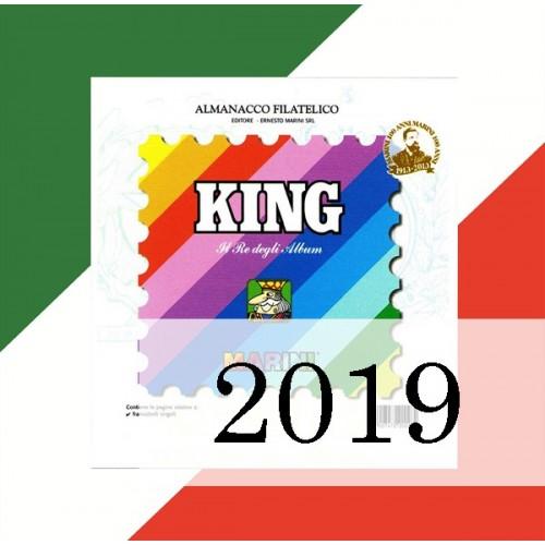 Fogli Italia 2019 - King