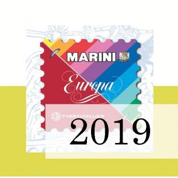 Fogli Vaticano 2019 - Europa