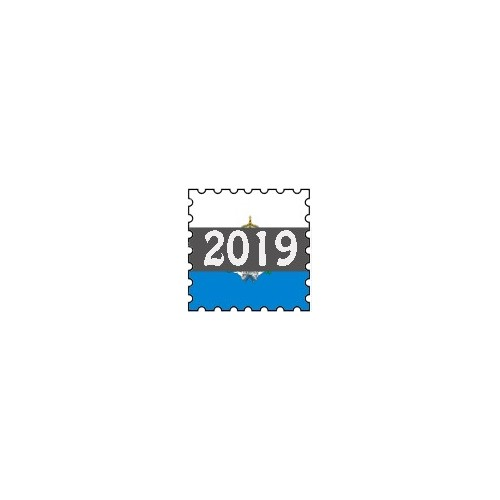 Francobolli San Marino - Annata 2019