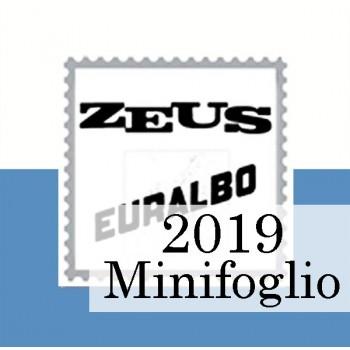 Fogli San Marino 2019 MF Alpini - Euralbo
