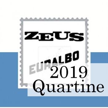 Fogli San Marino 2019 Quartine - Euralbo