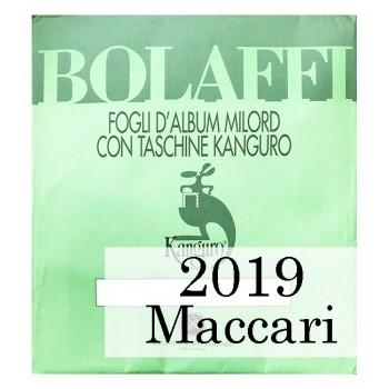 Fogli Italia 2019 Maccari - Bolaffi