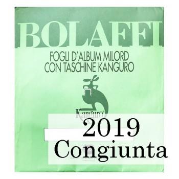 Fogli Italia 2019 Cong. Gesù - Bolaffi