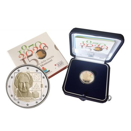Italia - 2020 - 2€ Montessori PROOF