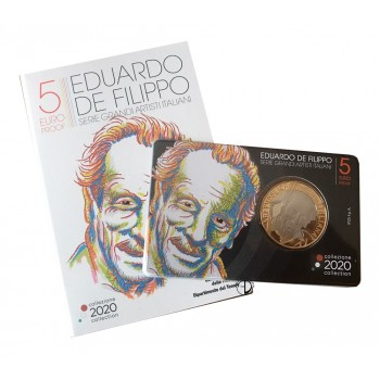 Italia - 2020 - 5€ De Filippo