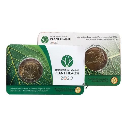 Belgio - 2020 - 2€ Piante (v. francese)