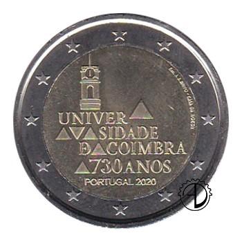 Portogallo - 2020 - 2€ Università di Coimbra