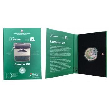 Italia - 2020 - 5€ Olivetti Verde