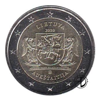 Lituania - 2020 - 2€ Aukstaitija