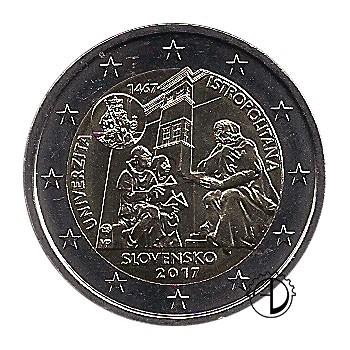 Slovacchia - 2017 - 2€ Accademia Istropolitana