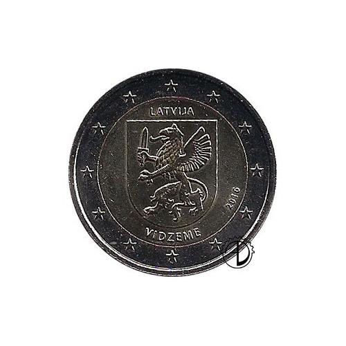 Lettonia - 2016 - 2€ Regione Vidzeme