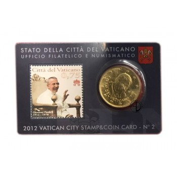 Vaticano - 2012 - Stamp&Coin Card (n.2)