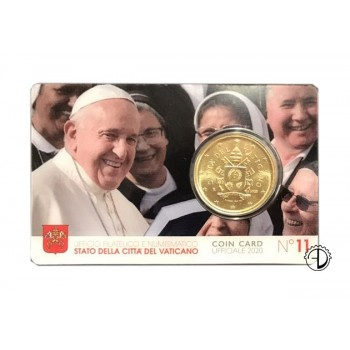 Vaticano - 2020 - Coin Card (n.11)