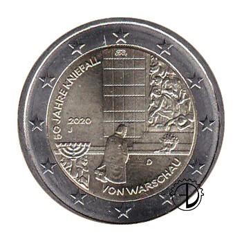 Germania - 2020 - 2€ Genuflessione di Varsavia
