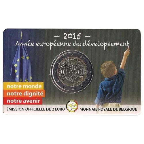 Belgio - 2015 - 2€ Sviluppo (vers. francese)