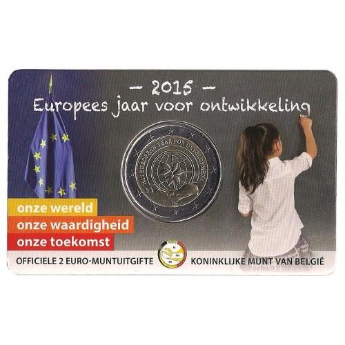 Belgio - 2015 - 2€ Sviluppo (vers. olandese)