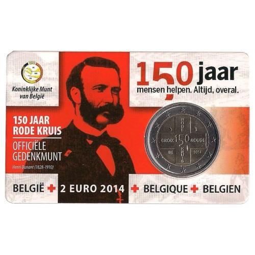 Belgio - 2014 - 2€ Croce Rossa (vers. olandese)