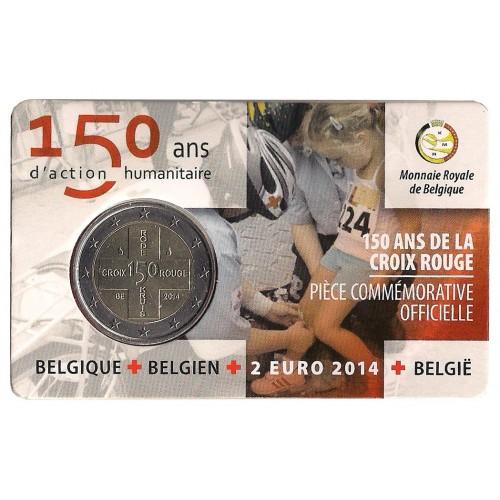 Belgio - 2014 - 2€ Croce Rossa (ver. francese)