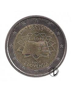 Slovenia - 2007 - 2€ Trattato di Roma
