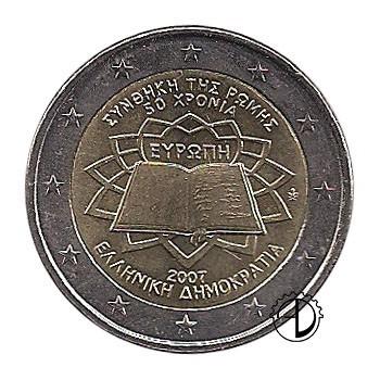 Grecia - 2007 - 2€ Trattato di Roma