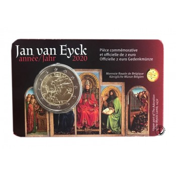 Belgio - 2020 - 2€ Van Eyck (v. francese)