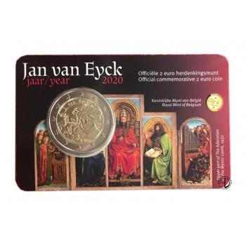 Belgio - 2020 - 2€ Van Eyck (v. olandese)
