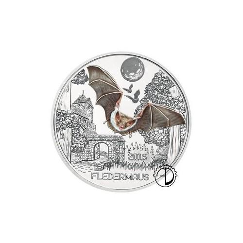 Austria - 2016 - 3€ Animali: Pipistrello