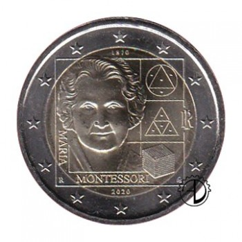 Italia - 2020 - 2€ Montessori