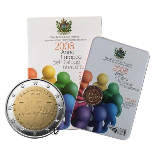 San Marino - 2008 - 2€ Dialogo