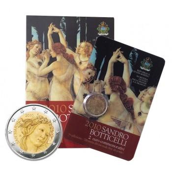 San Marino - 2010 - 2€ Botticelli