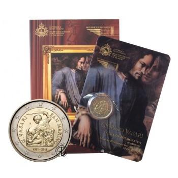 San Marino - 2011 - 2€ Vasari