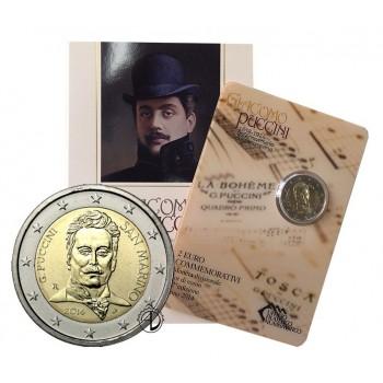 San Marino - 2014 - 2€ Puccini