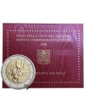 Vaticano - 2008 - 2€ San Paolo Apostolo
