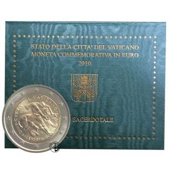 Vaticano - 2010 - 2€ Anno Sacerdotale