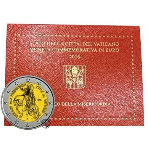 Vaticano - 2016 - 2€ Misericordia