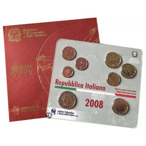 Divisionale Italia 2008 - 8 valori