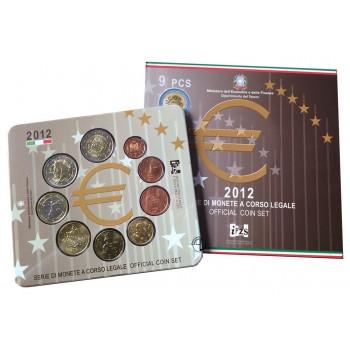 Divisionale Italia 2012 - 9 valori