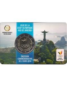 Belgio - 2016 - 2€ Olimpiadi (Team Belgium)