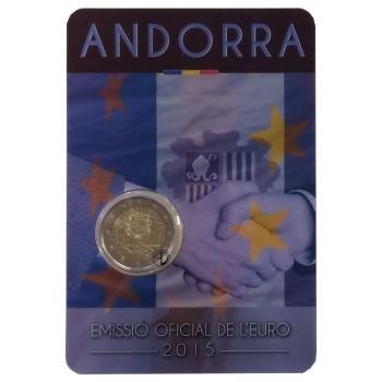 Andorra - 2015 - 2€ Accordo Doganale (in blister)