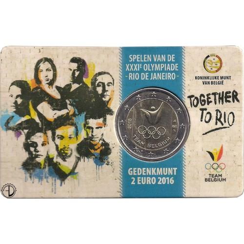 Belgio - 2016 - 2€ Olimpiadi (2 Euro)