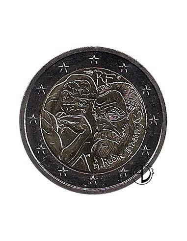 Francia - 2017 - 2€ Rodin