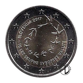Slovenia - 2017 - 2€ Introduzione Euro