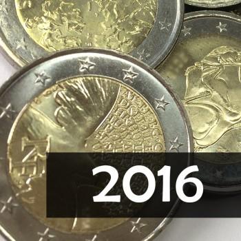 Giro Completo 2€ 2016, 25 v.
