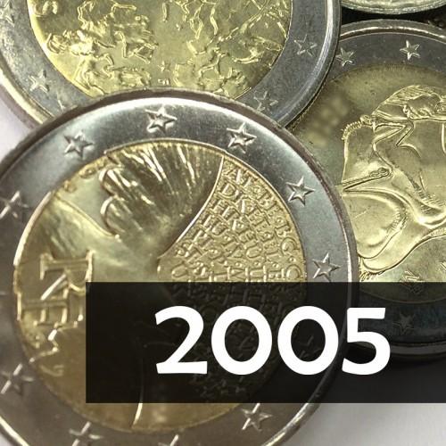 Giro Completo 2€ 2005, 6 v.