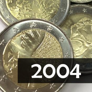 Giro Completo 2€ 2004, 4 v.