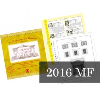 Fogli Vaticano 2016 Minifogli