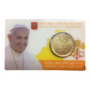 Vaticano - 2017 - Coin Card (n.8)