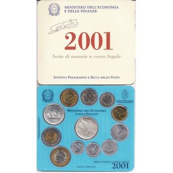 Italia Divisionale 2001 FDC