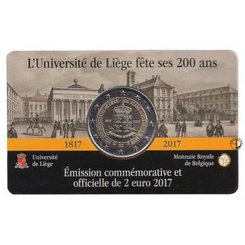 Belgio - 2017 - 2€ Università Liegi (versione francese)