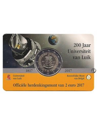 Belgio - 2017 - 2€ Università Liegi (versione olandese)